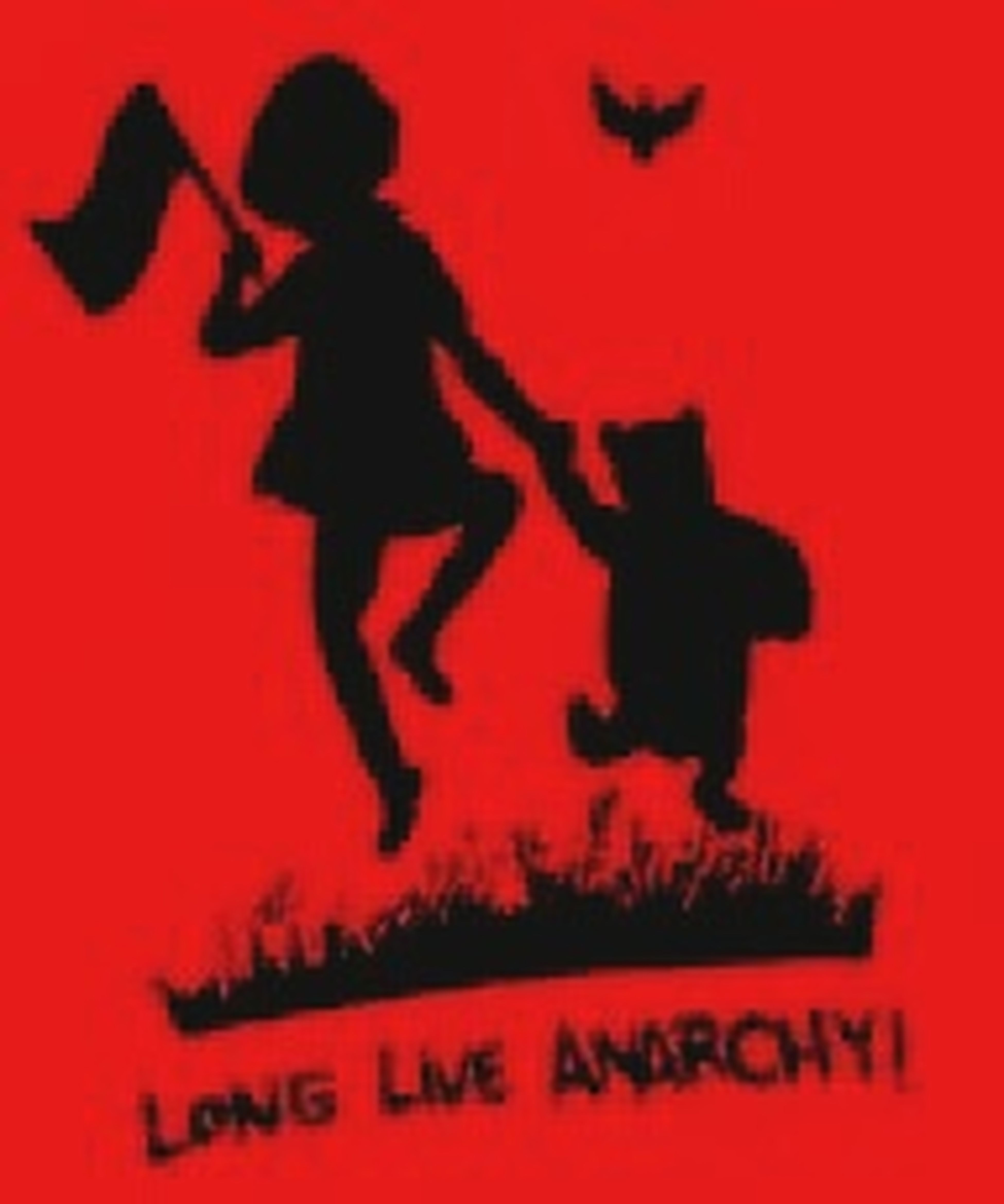Anarchy Longliveanarchy Love Cute Freedom Red Black Black&Red