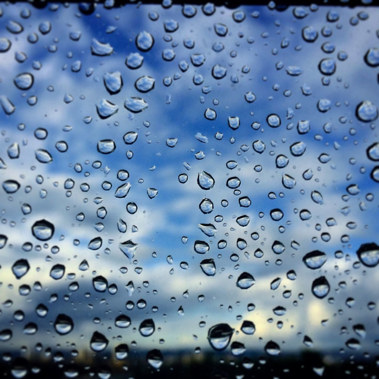drop, backgrounds, full frame, no people, window, water, close-up, wet, day, raindrop, outdoors, nature, sky