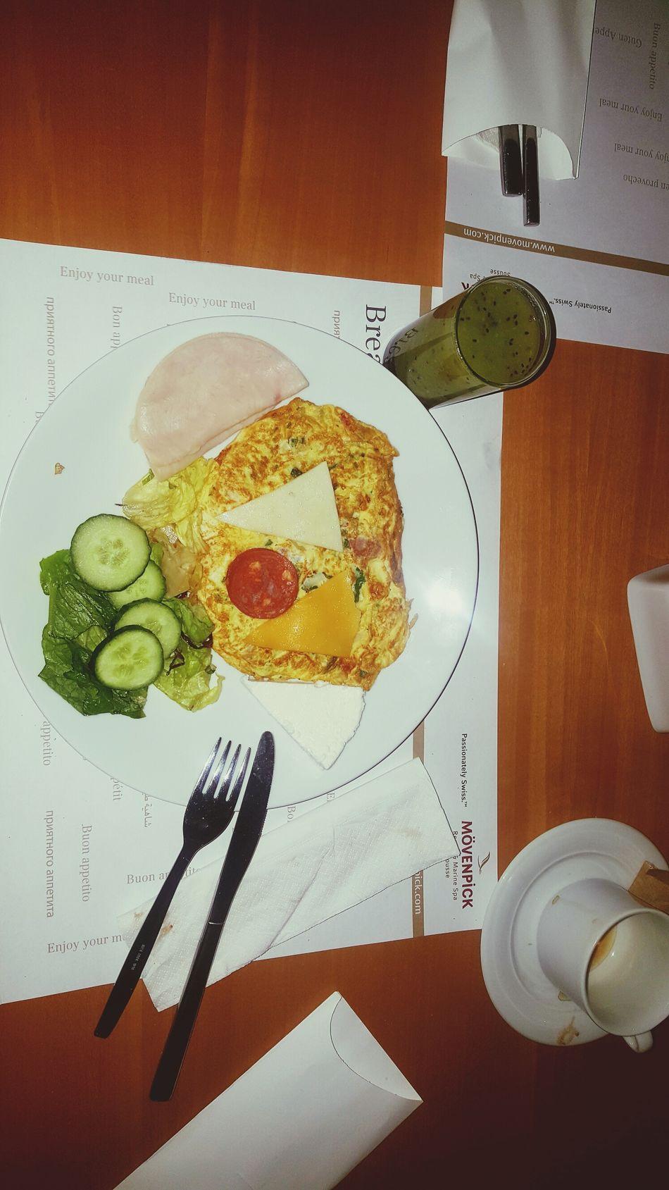 Food No People Indoors  Foodphotography EyeEm Gallery Eye Em Best Shots Breakfast Omlette Omlet Mövenpick Mövenpick Hotel Movenpick_hotel