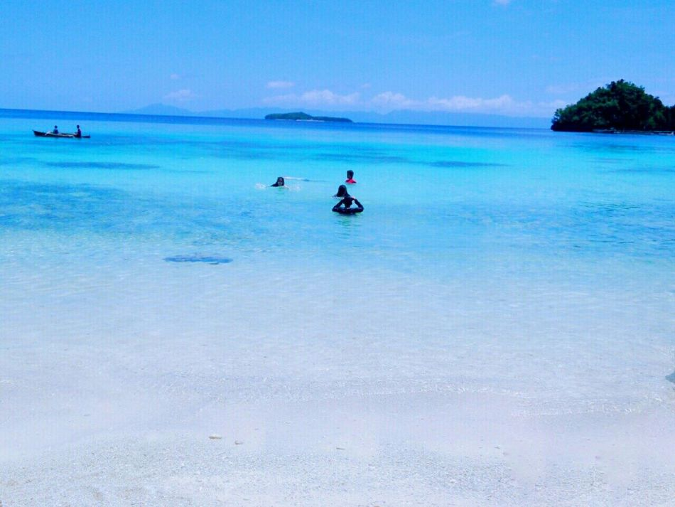 Aqua Beauty A Little Bit Of Paradise Clear Blue Water Take Me Back at Surigao Del Norte Dinagat Island