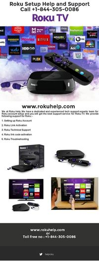 We give all help with respect to Roku account setup. We provide accurate details regarding the setup of the Roku player. Using our tech support will help you install the Roku player in the easiest of the ways. For more information visit www.rokuhelp.com or Call +1-844-305-0086 Infographics Roku Roku Account Setup Roku Help Roku Set Up Roku Technical Support Set Up Roku Account Www Roku Com Support Www Support Roku Com First Eyeem Photo