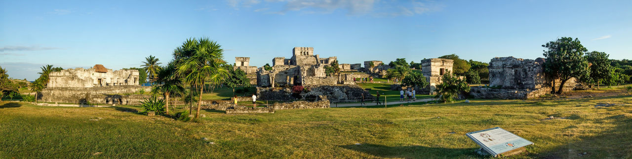 Ancient Architecture Ancient Civilization Archaeological Sites Architecture Historic History Mayan Mayan Ruins Panaromic Scenics The Past Tourism Tourist Attraction  Tranquil Scene Travel Destinations Tulum Yucatan Mexico Yucatan Peninsula Yúcatan