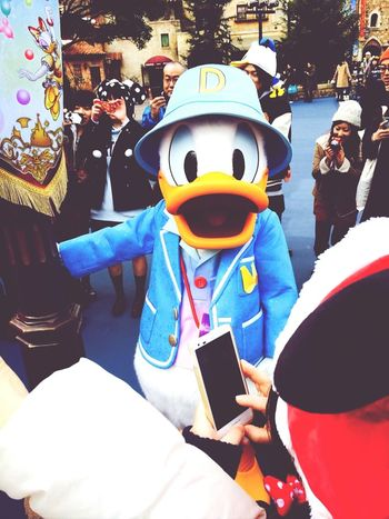 Tokyo Disney Sea Donald Duck Cute♡
