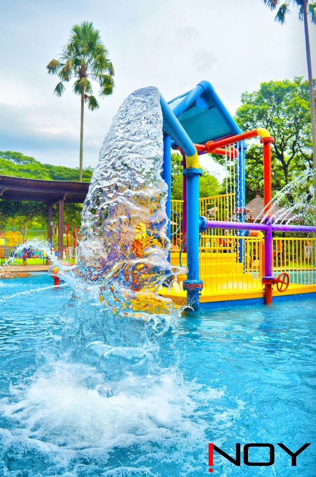 Water Reflections Waterpark The Taman Dayu Waterpark The Taman Dayu Water Outbound Waterboom Recreation  Swimming Kids Poolside