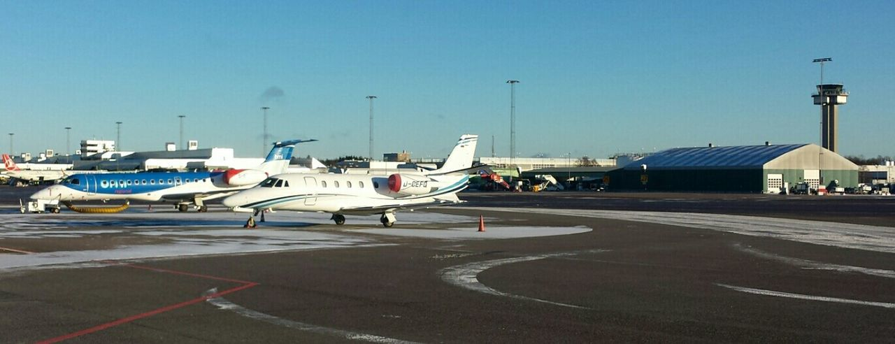 Göteborg Landvetter Airport (got) At The Airport Airport Apron