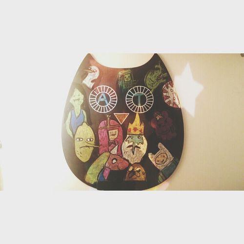 Adventure Time Chalk Owl Chalk Board