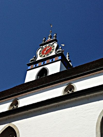 Architecture Architectural Detail Sky_collection Blue Aarau Altstadt