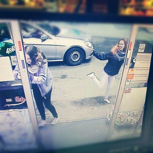 Two Retarded Drunk Girls . Louise