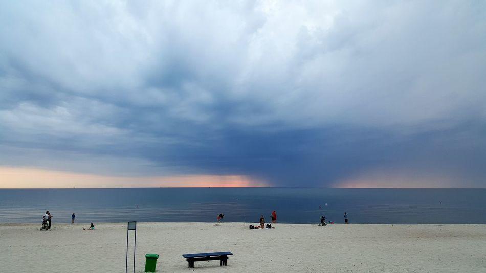 Sea Summer Sunset Sky And Clouds Nature Sky Sunny Beach Landscape Marine