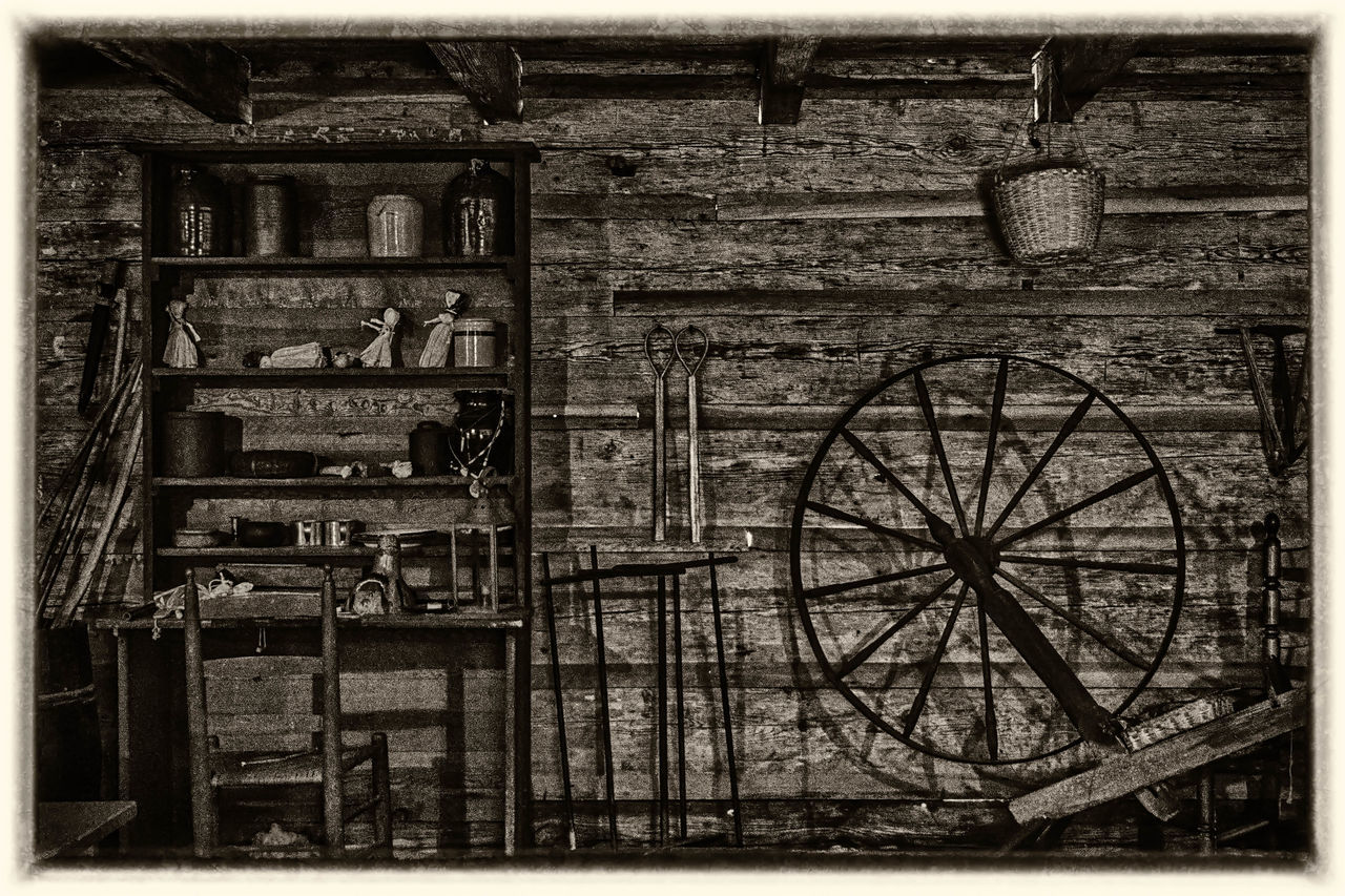 Remembering things back in the Days Antique Architecture Back In The Old Days Brick Wall Buckets Building Built Structure Day Deterioration History Inside Inside Things Jugs No People Old Outdoors Run-down The Past Vintage Wheels