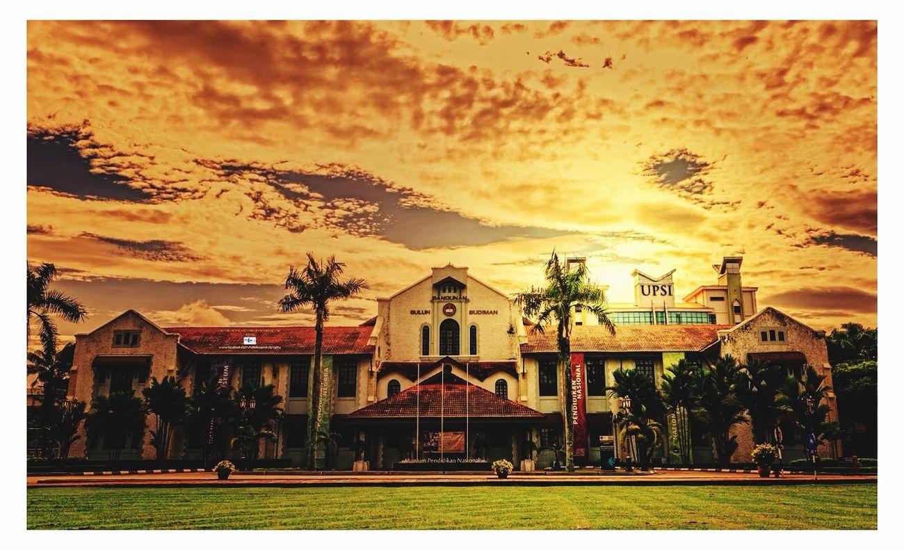 Upsi Education University Building Architecture Sunrise Sunset First Eyeem Photo