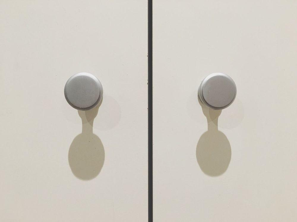 Handle Door Point Of View Round Pantry