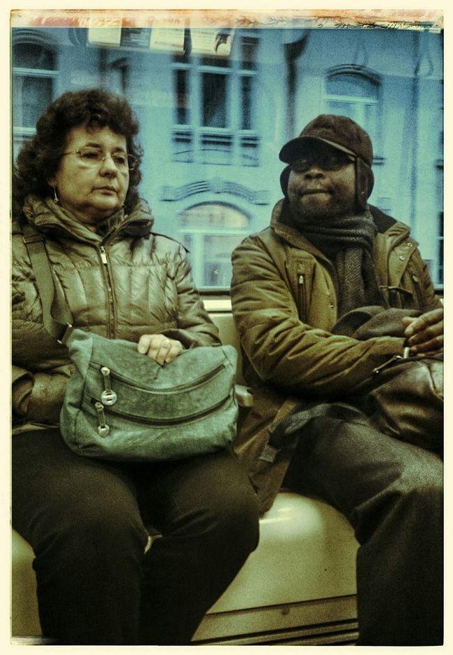 U-Bahn People Watching Stassenbahn Streetphotography