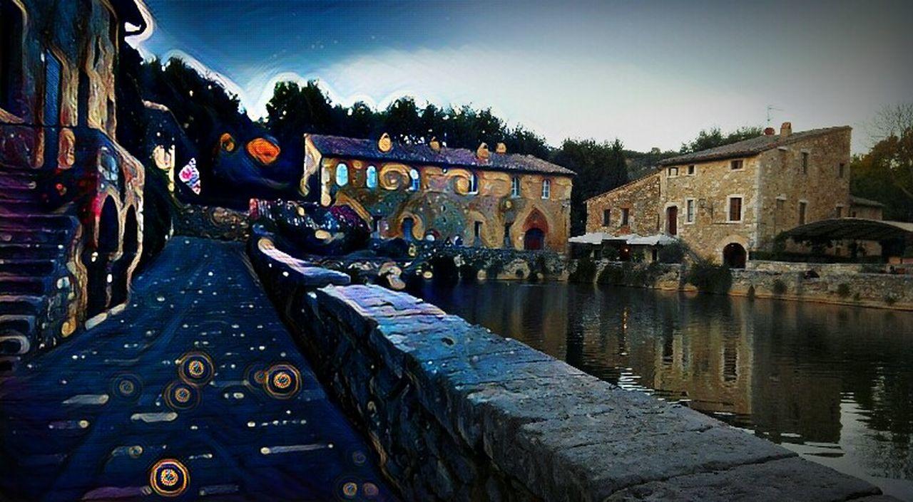 Bagnovignoni Picsart Architecture Toscana Beautıful Textured  Multi Colored Water Day