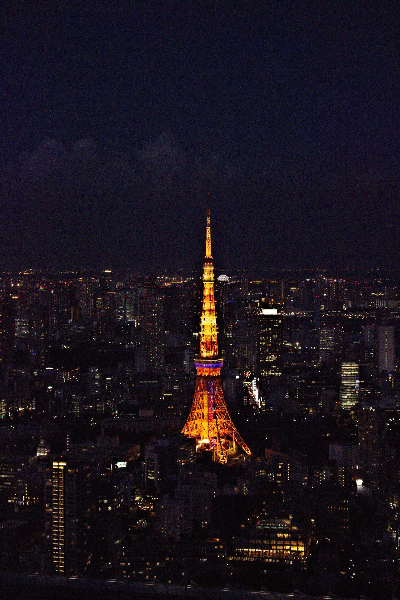 Architecture Built Structure Capital Cities  City City City Life City Life Cityscape Dark Japan Light Modern Night Night Lights Nightphotography No People Roppongi Tall - High Tokyo Tokyo Tower Travel Destinations 六本木 夜景 東京 東京タワー