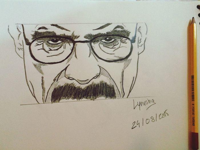 Dessin Breackingbad Heinsenberg Drawing Draw Art, Drawing, Creativity Drawings My Drawing