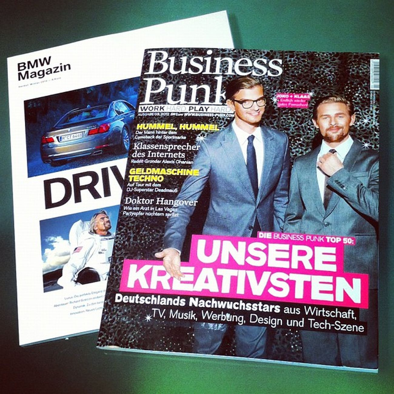 Morgenlektüre Bmw Punk Magazine Business Magazin Bmwmagazin Businesspunk
