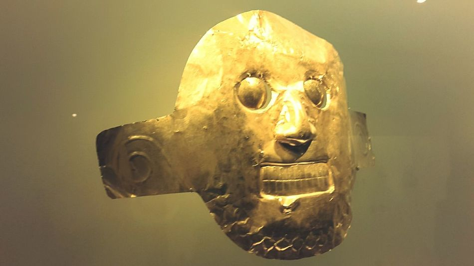 Gold Mask ...colombia