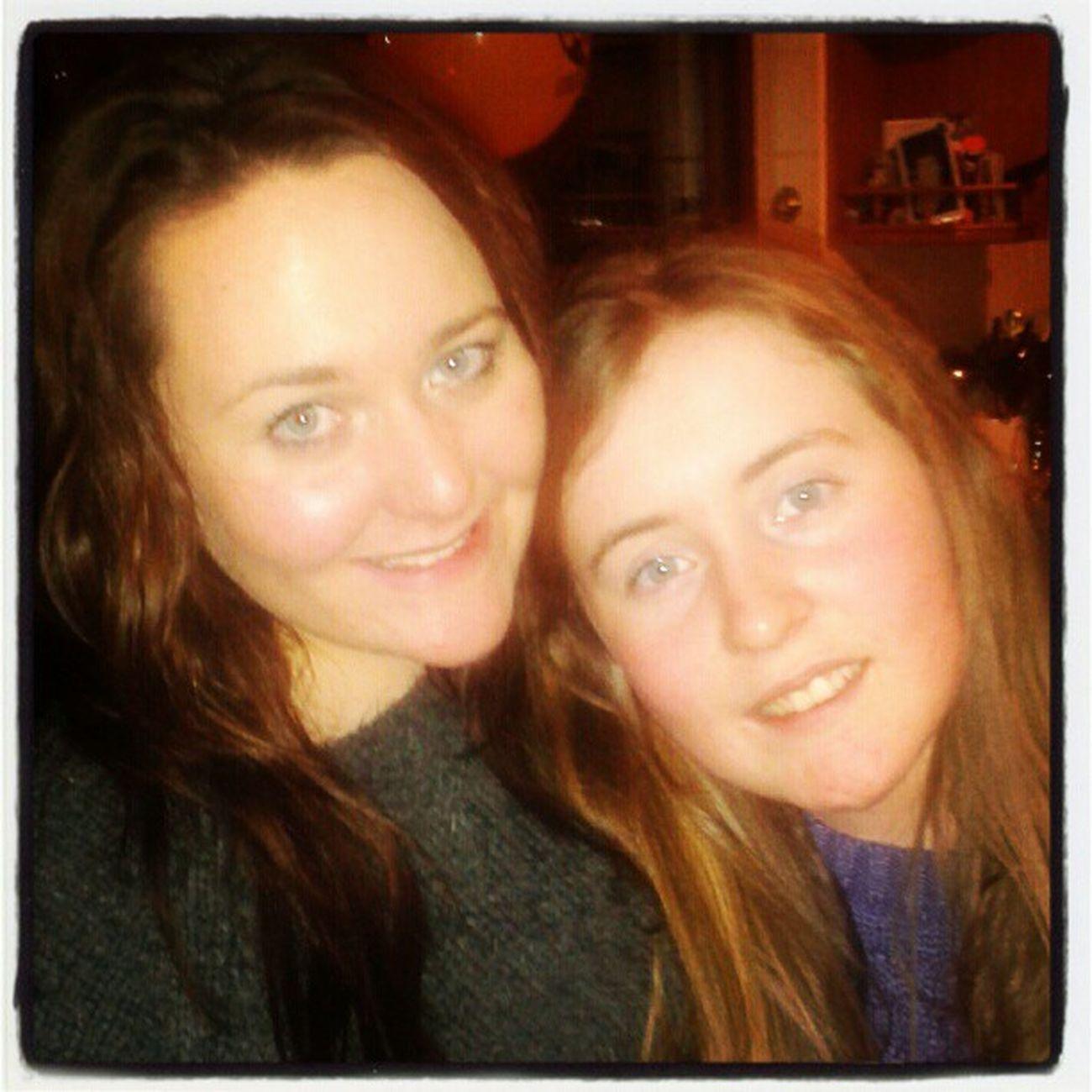 mini-me Eilis Havingthecraic SistaSista  Sister weesister instapose instadaily toomuchcake cute loveher twins