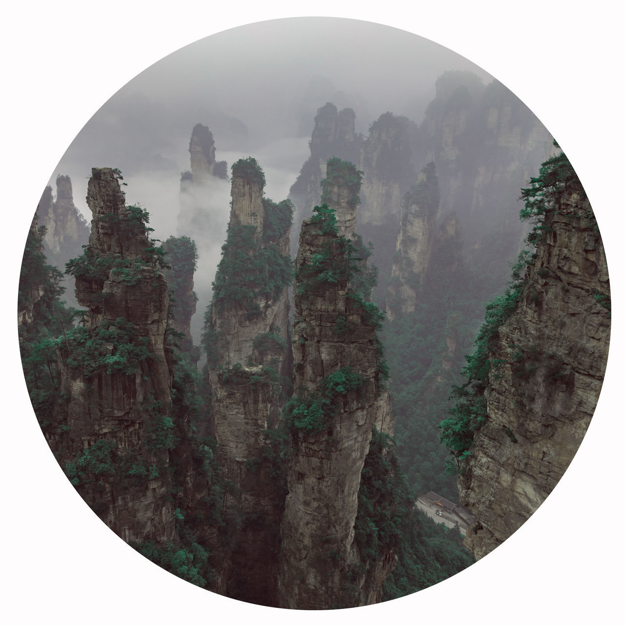 Chiang Mai   Thailand Day Ink No People Outdoors Painted Image Sky Zhangjiajie Geopark