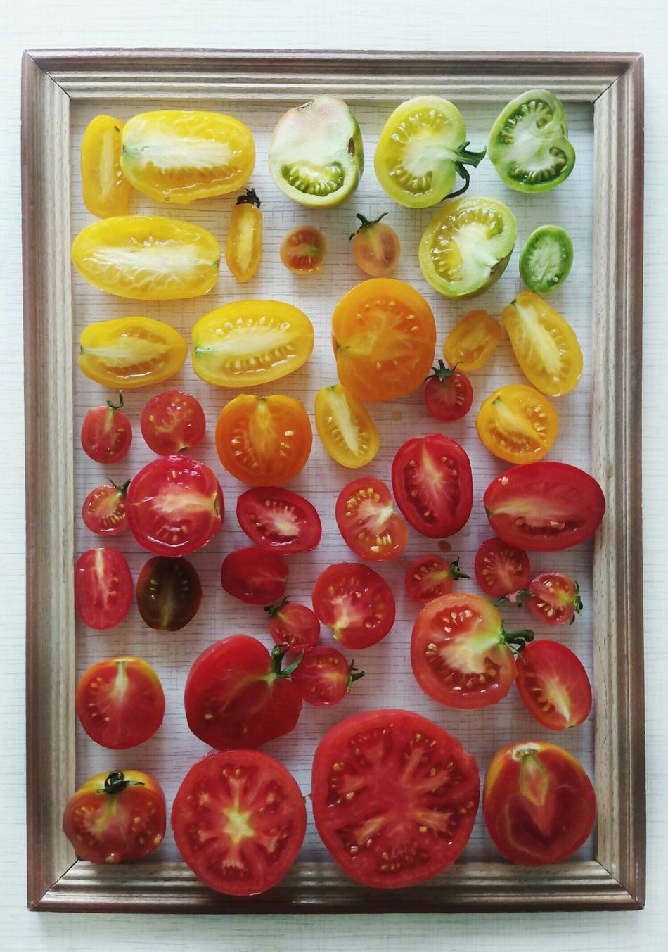 Color it Fruit Food And Drink Food Directly Above Freshness Variation Healthy Eating No People SLICE Indoors  Citrus Fruit Sweet Food Grapefruit Close-up Day Ready-to-eat Gelatin Dessert Art Is Everywhere
