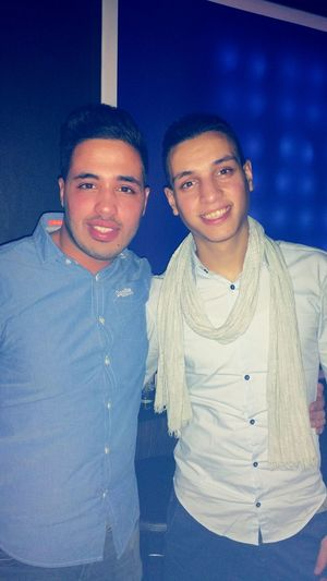 With the brother