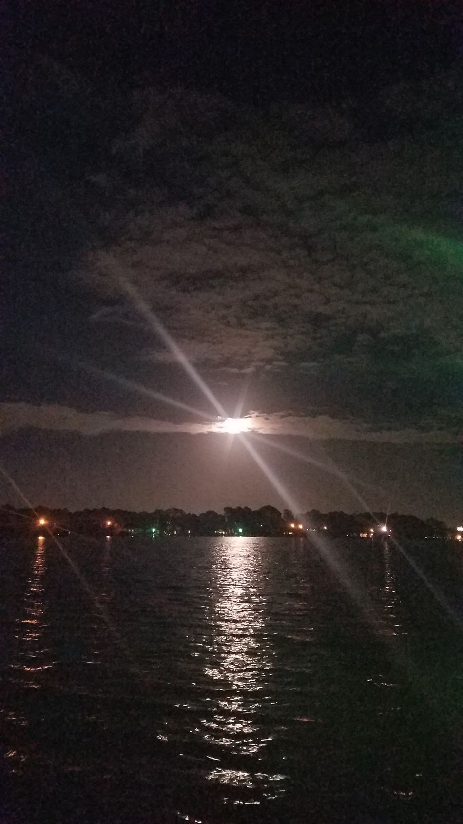 EyeEmNewHere Reflection Beauty In Nature Wolf Moon Night Enjoy The New Normal Capture The Moment