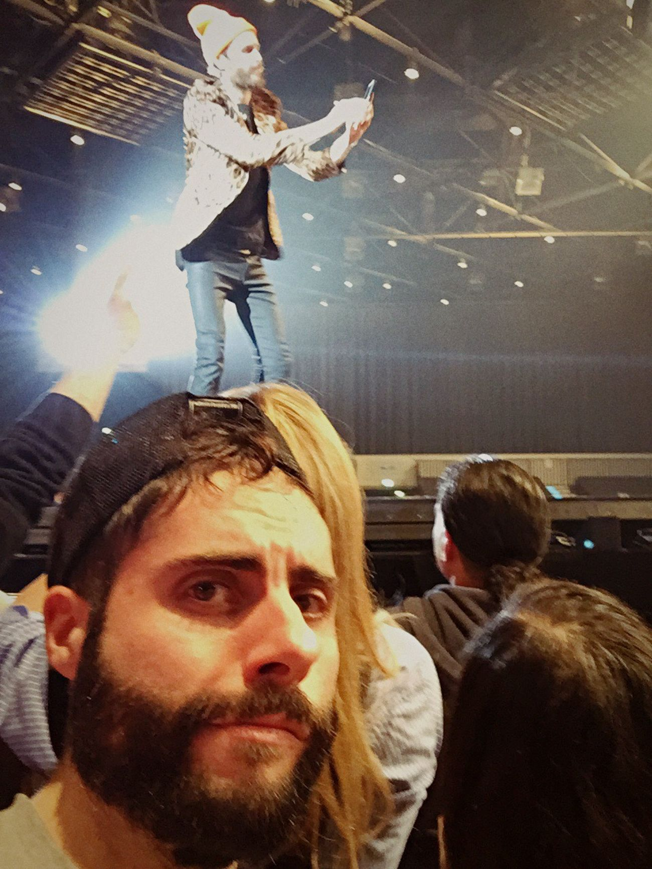 Selfie ✌ with Jovanotti taking a Selfie✌