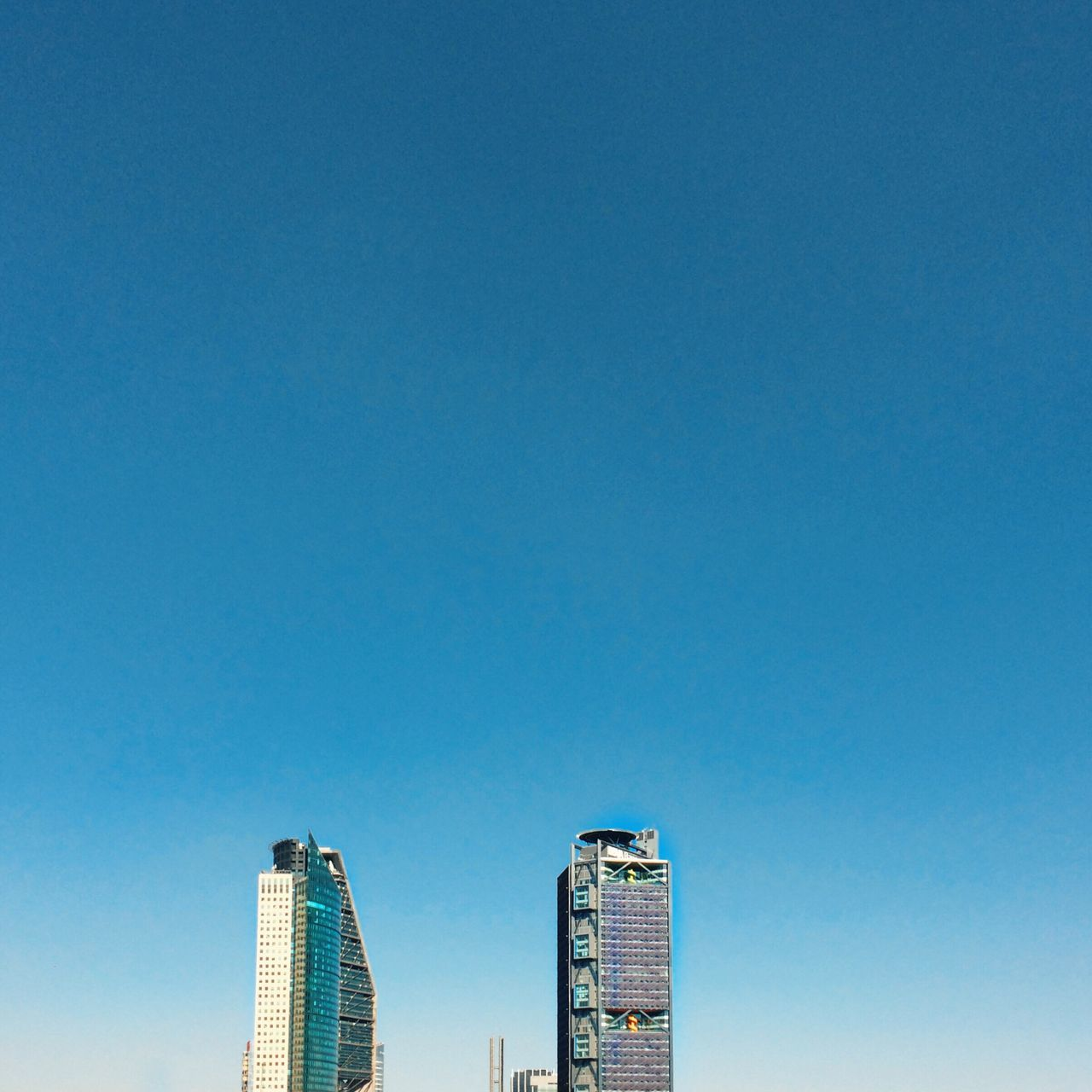 Architecture Blue Building Building Exterior Built Structure City Clear Sky Eye4photography  EyeEm Best Edits EyeEm Best Shots EyeEm Gallery High Section No People Office Building Tall Tall - High Tower VSCO Vscocam Vscogood