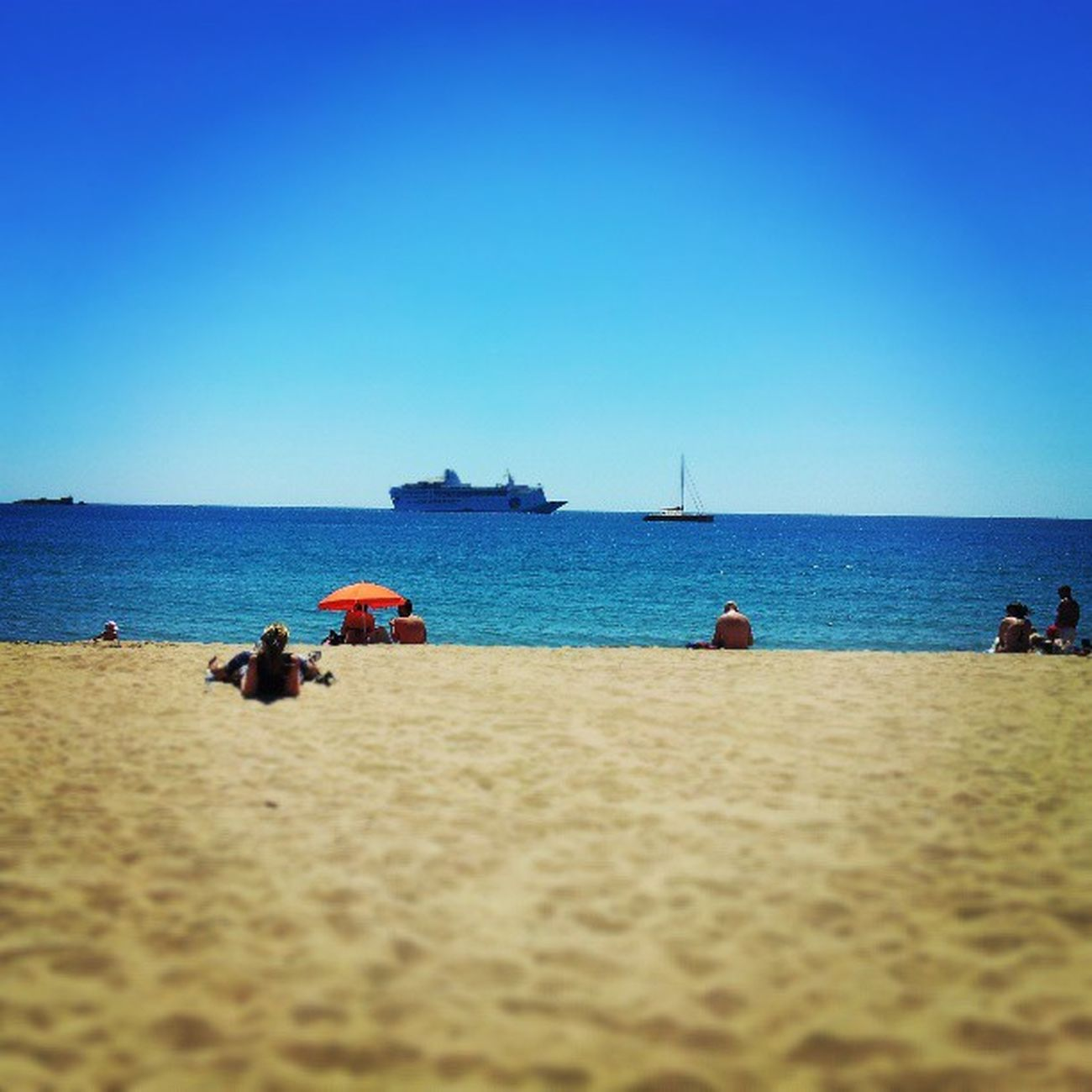 Demain retour dans la grisaille parisienne... :-( Endofholidays Theend Holidays Beach plage playa sun sunset skyporn bluesky cielbleu lovelovelove love lovephotography photography photodujour photoofday bestoftheday tagsforlikes likes sud south france french avec @stee92 <3