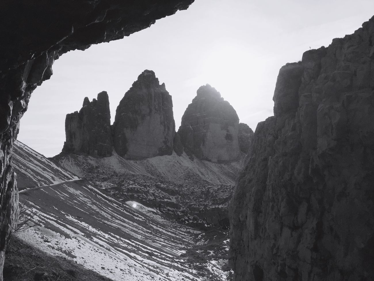 Dreizinnen Hiking Hikingadventures Altoadige Südtirol Blackandwhite Nature Showcase: November