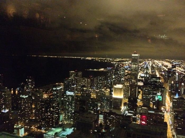 from the 95th... Chicago 95th Floor Big City Bright Lights