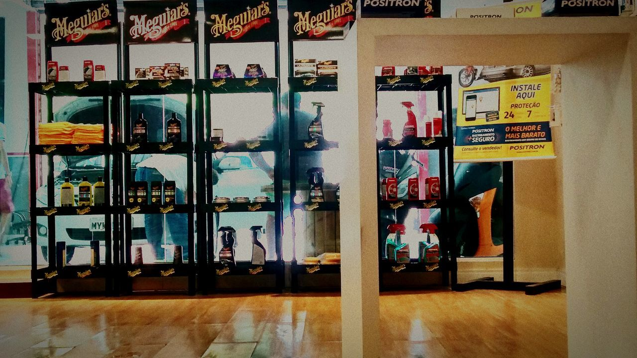 Meguiars Car Box84 NatalRN Brasil Store Business Finance And Industry Retail  Indoors  Business Choice No People Day City Architecture Supermarket First Eyeem Photo