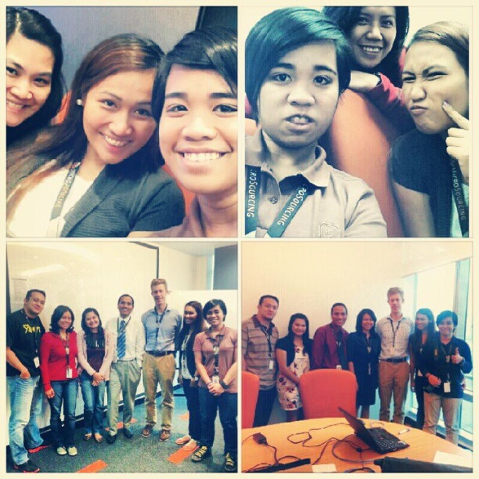 Shout out to my office mates here at Microsourcing.. and to our client as well. Work Lifeintheoffice