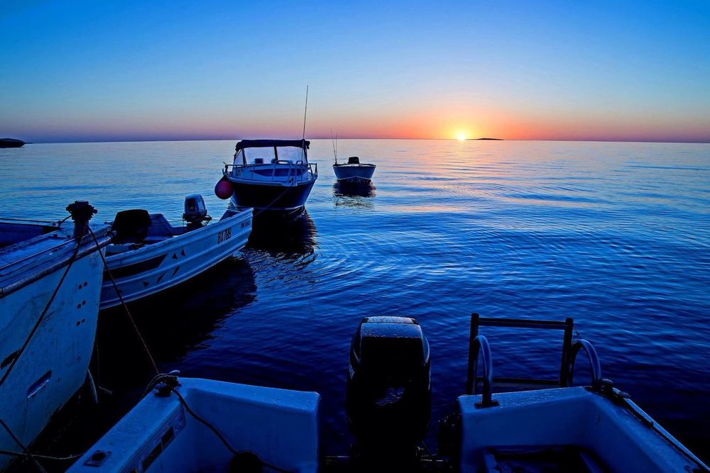 Ocean Boats Island Australia