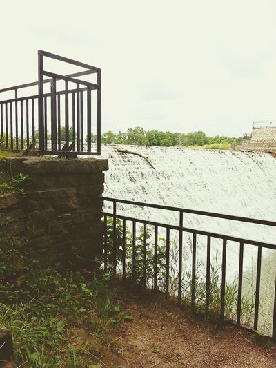 The sound of the water is so peaceful! Check This Out Relaxing Atthelake OpenEdit Spillway Iowa Beautiful Day Picturejunkie The Essence Of Summer A Moment Of Zen