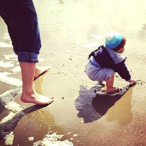 People Of The Oceans Sand & Sea Looking For Shells Beach Baby Beach Life Hello World Enjoying Life At The Beach Oregon Beauty My Grandson The Great Outdoors - 2016 EyeEm Awards Oregon Coast Award Winning Photos What I See Tyler Torn The OO Mission