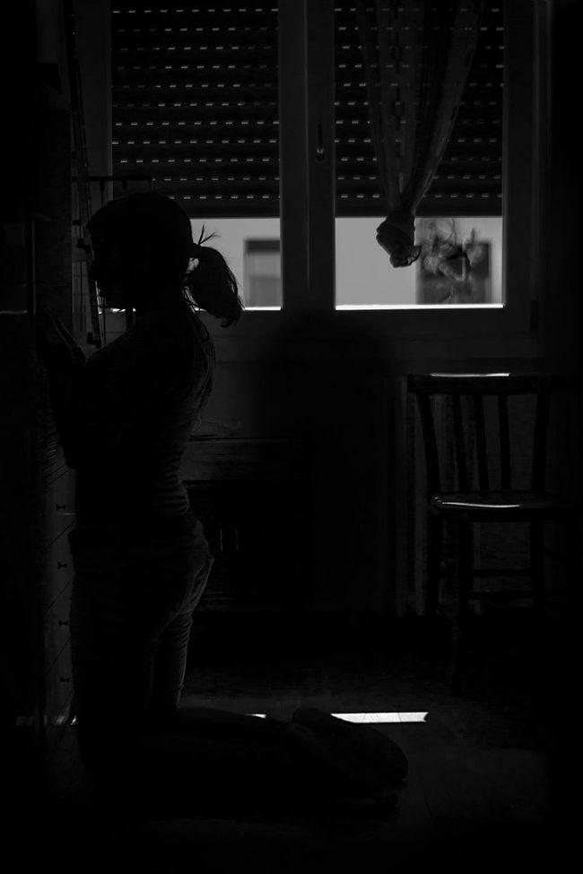 #alone #blackandwhite #Dark #darkroom #deepinside #likeaprayer #praying #silence