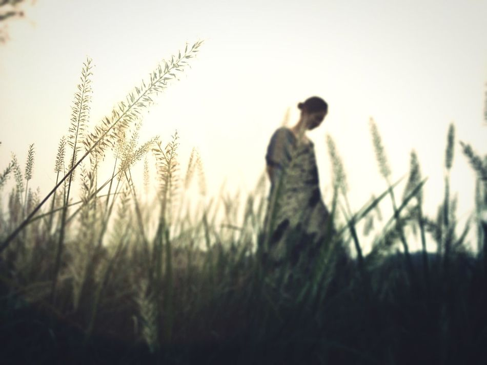 Beautiful stock photos of sad, Casual Clothing, Day, Field, Grass
