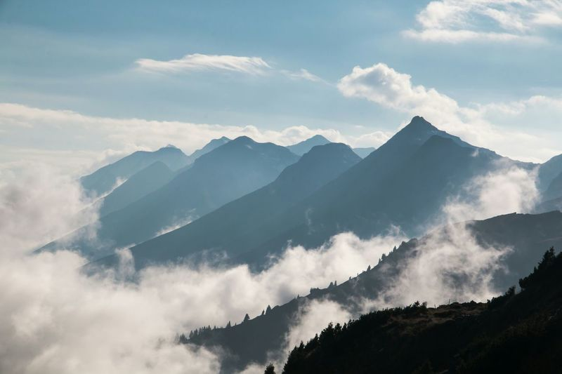 Clouds Nebelmeer Berge Swiss Alps Kandertal Mountain_collection