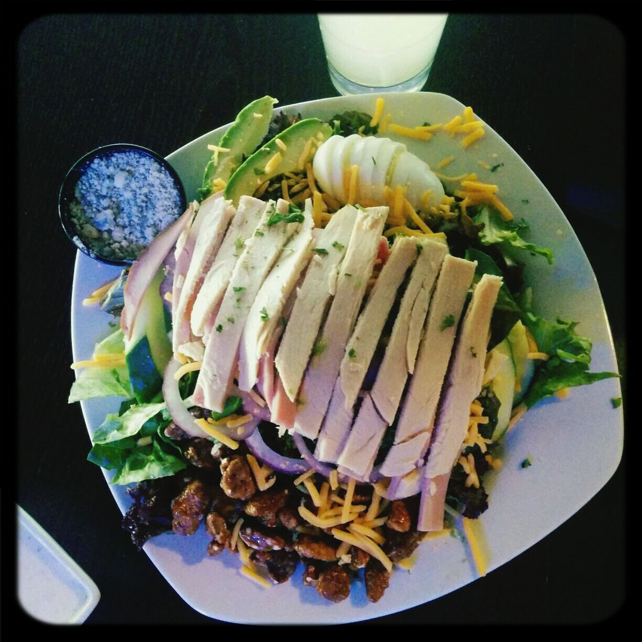 cobb salads are the way to my heart.