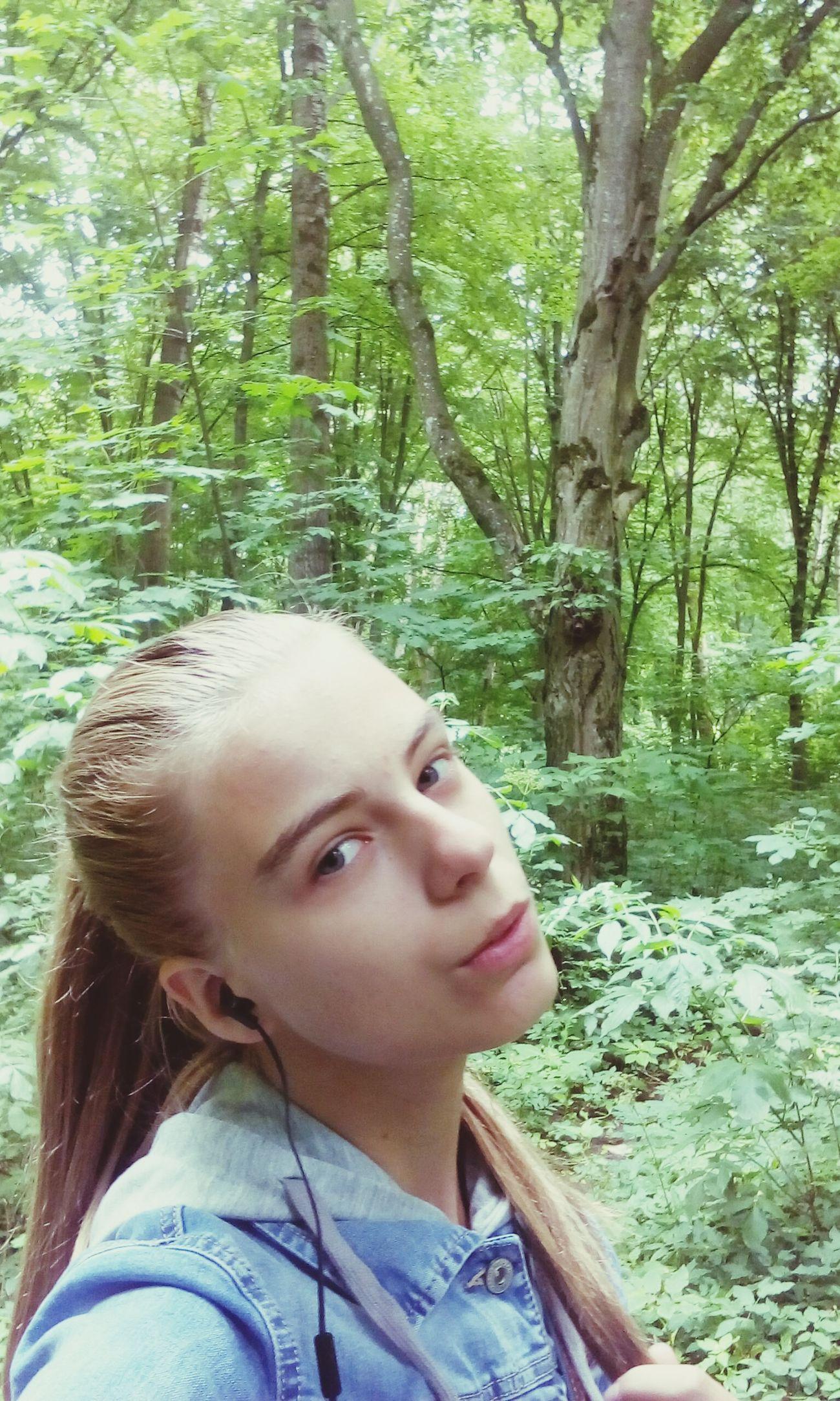 Немножечко селфи лес и природа свежийвоздух