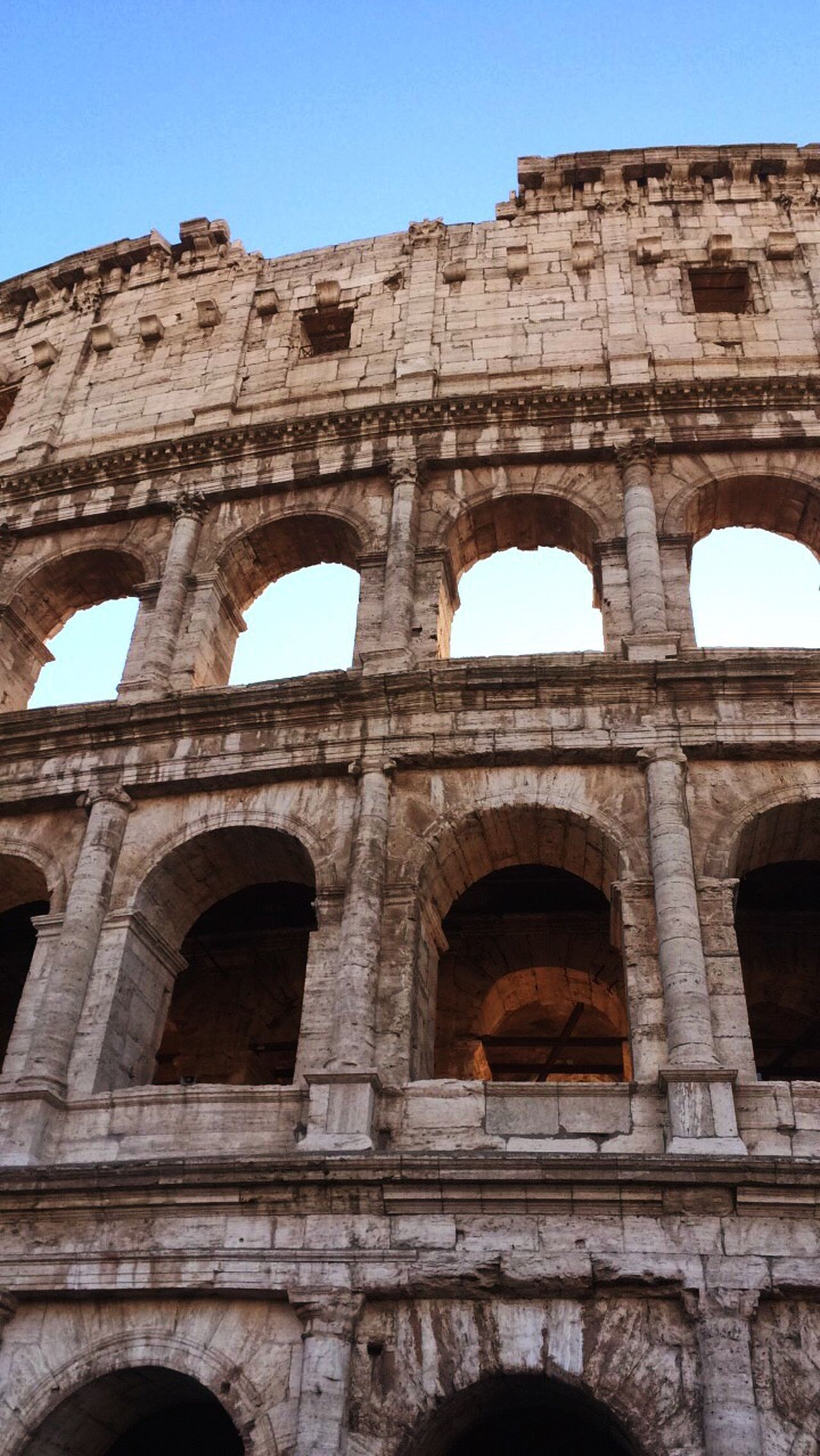 Rome's proud Rome Colosseo Colosseum Monument Ancient Roma Italy Ancientrome Roman Unesco History City Citytrip Travel Travelphotography Architecture Old Buildings