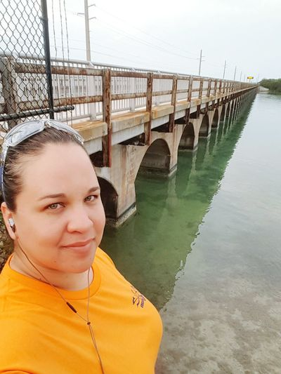 After nearly 30hrs being up, i should be going to bed Noexcuses Hanging Out Enjoying Life Ocean View Florida Keys Paradise Morning Walk Lovephotography  Workoutmotivation Selfieporn Thoseeyes Hazel Eyes  Self Potrait Plussizebeauty That's Me Bridge View Bridges Arches Flatwater