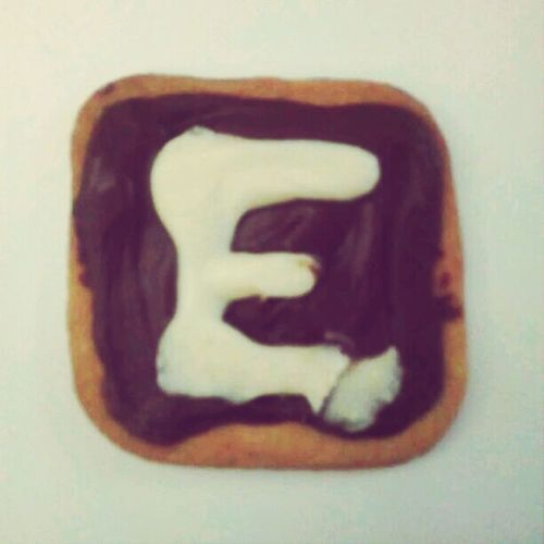 Cookies Letter E