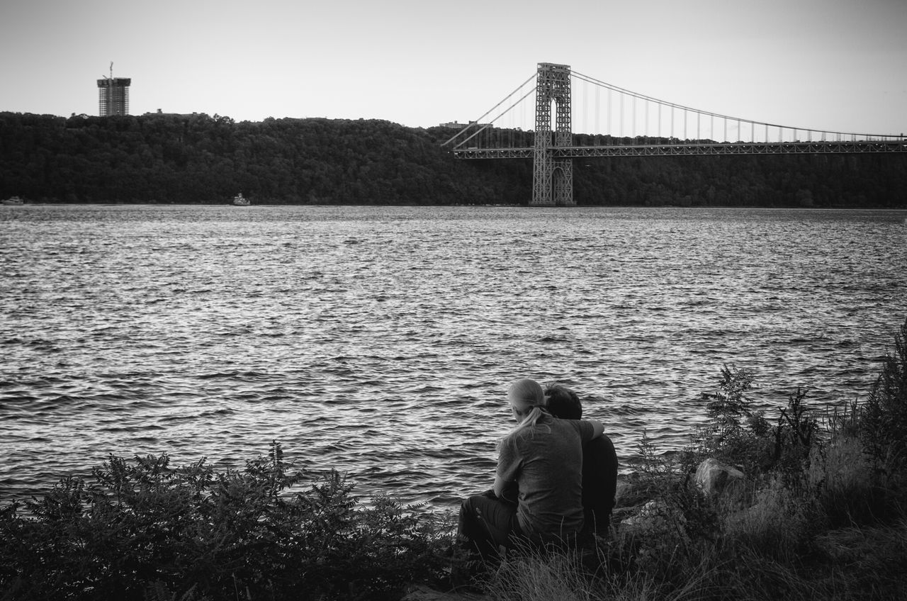 Beautiful stock photos of romantic, Bonding, Borough of Bronx, Bridge, Clear Sky