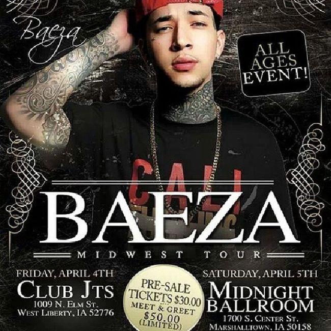 Ahh finally something good to go to.!!! Baeza Loveit April -5-14 @officialbaeza
