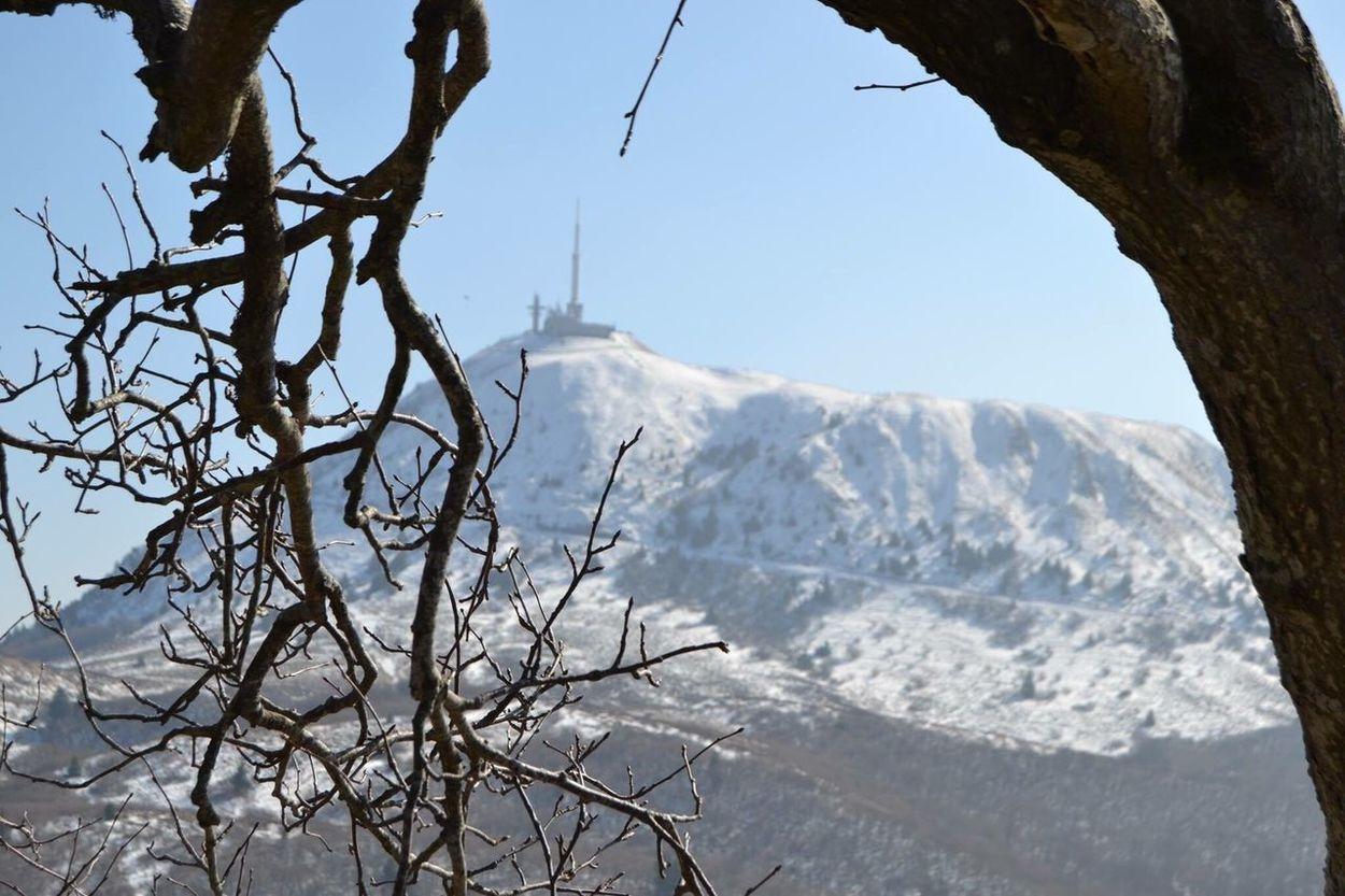 Puy De Dôme Nature Photography Auvergne Snow Neige Nikon NikonD3100 Nikonphotography Nature Feuilles Photooftheday Landscape