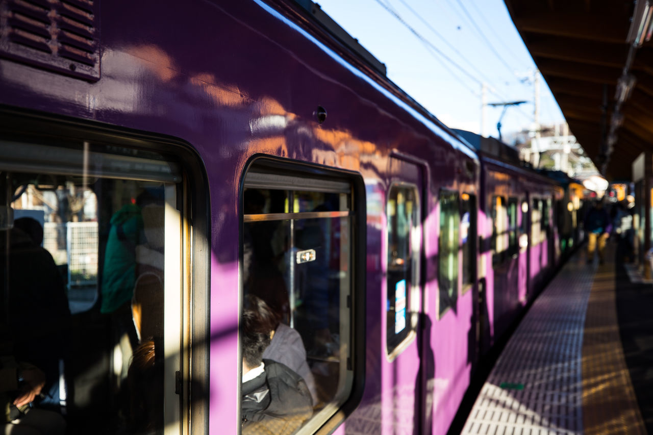 Commuter Day Indoors  Mode Of Transport Passenger People Public Transportation Subway Train Transportation Travel
