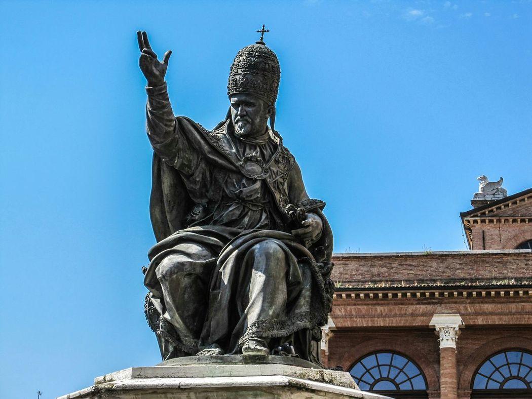 Piazza Cavour Rimini Italy Holydays Monuments Paulus V - Camillo Borghese